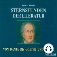 Sternstunden der Literatur