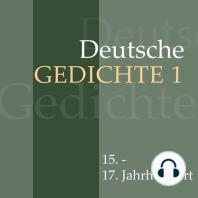 Deutsche Gedichte 1
