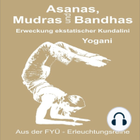 Asanas Mudras und Bandhas