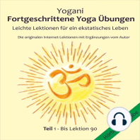 Fortgeschrittene Yoga Uebungen Teil 1