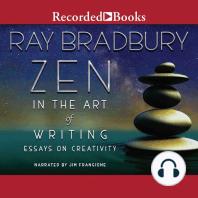 Zen in the Art of Writing