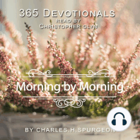 365 Devotionals Morning By Morning - by Charles H. Spurgeon