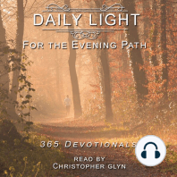 Daily Light for the Evening Path 365 Devotionals