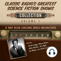 Classic Radio's Greatest Science Fiction Shows, Collection 1