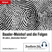 Baader-Meinhof und die Folgen