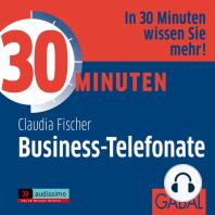 30 Minuten Business-Telefonate