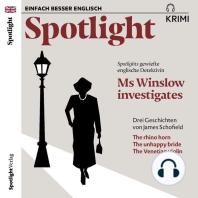 Spotlight Krimi – Ms Winslow investigates
