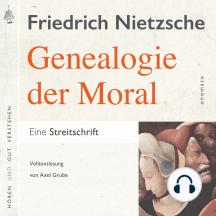 Zur Genealogie der Moral. Eine Streitschrift: Volltextlesung von Axel Grube.