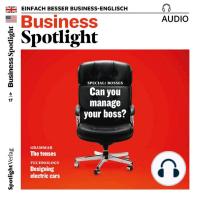 Business-Englisch lernen Audio - Umgang mit Vorgesetzten