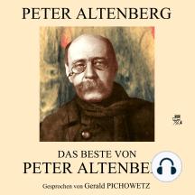 Das Beste von Peter Altenberg