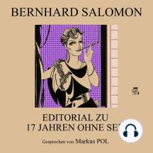 Editorial zu 17 Jahre ohne Sex