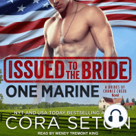 Issued to the Bride One Marine
