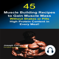 45 Muscle Building Recipes to Gain Muscle Mass