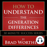 How to Understand the Generation Differences