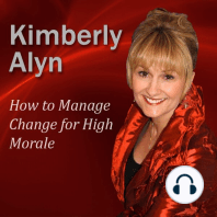 How to Manage Change for High Morale