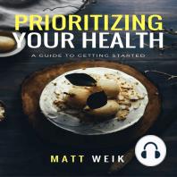Prioritizing Your Health