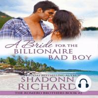 A Bride for the Billionaire Bad Boy