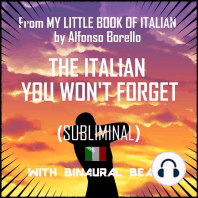 The Italian You Won't Forget