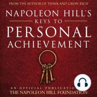 Napoleon Hill's Keys to Personal Achievement