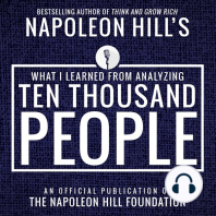 What I Learned From Analyzing Ten Thousand People