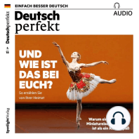 Deutsch lernen Audio - Und wie ist das bei euch?