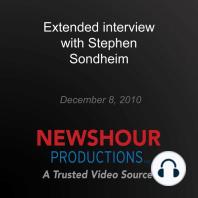 Extended interview with Stephen Sondheim