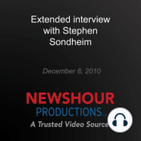 Extended interview with Stephen Sondheim