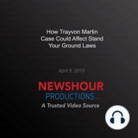 How Trayvon Martin Case Could Affect Stand Your Ground Laws