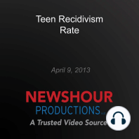 Teen Recidivism Rate