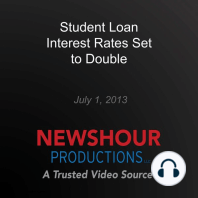 Student Loan Interest Rates Set to Double