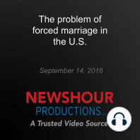 The problem of forced marriage in the U.S.