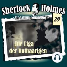 Sherlock Holmes, Die Originale, Fall 29: Die Liga der Rothaarigen