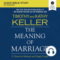 Meaning of Marriage Audio Study, The