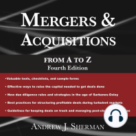 Mergers & Acquisitions from A to Z: Fourth Edition