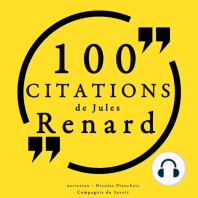 100 citations de Jules Renard