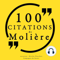 100 citations de Molière