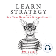 Learn Strategy with Sun Tzu, Napoleon and Machiavelli