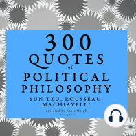 300 Quotes of Political Philosophy