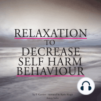Relaxation to decrease self-harm behaviour