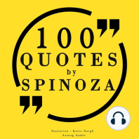 100 Quotes by Spinoza
