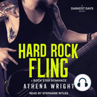 Hard Rock Fling: A Rock Star Romance: Darkest Days, Book 2