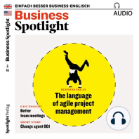 Business-Englisch lernen Audio - Agiles Projektmanagement