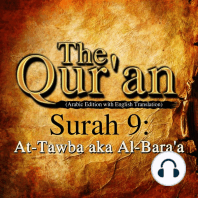 Qur'an (Arabic Edition with English Translation), The - Surah 9 - At-Tawba aka Al-Bara'a