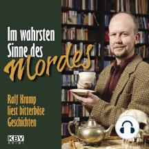 Im wahrsten Sinne des Mordes: Ralf Kramp liest bitterböse Geschichten