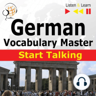 German Vocabulary Master: Start Talking: 30 Topics at Elementary Level: A1-A2
