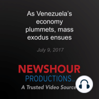 As Venezuela's economy plummets, mass exodus ensues