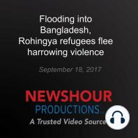 Flooding into Bangladesh, Rohingya refugees flee harrowing violence