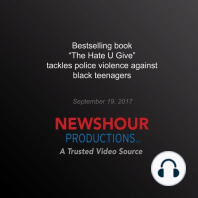 Bestselling Book 'The Hate U Give' Tackles Police Violence Against Black Teenagers