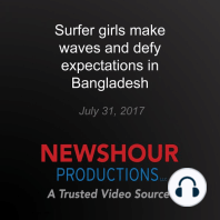 Surfer girls make waves and defy expectations in Bangladesh