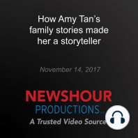 How Amy Tan's family stories made her a storyteller